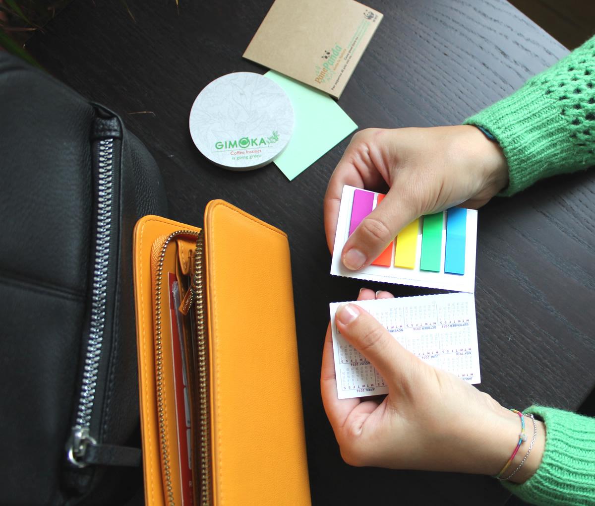 CardMemo tascabile che diventa un biglietto da visita in sole 2 mosse