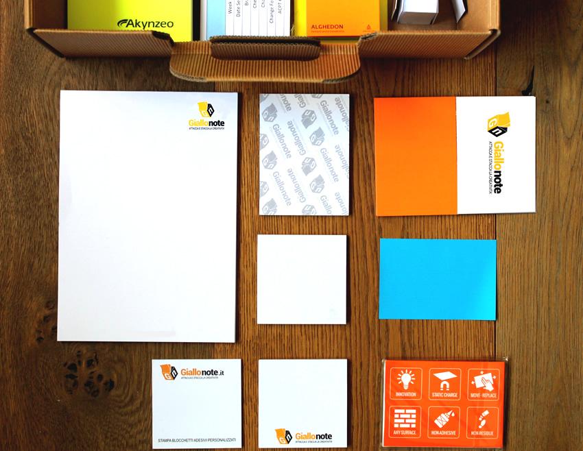Post-it personalizzati e set combinati, un gadget evergreen utile in ufficio