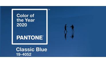 I colori Pantone e il Classic Blue 2020